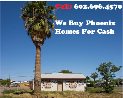 We buy houses in phoenix for cash