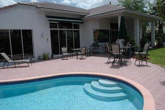 Swimming pool adds value to a home in Phoenix